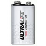 Ultralife 9V Lithium Battery , BULK, U9VLJPBK