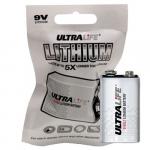 Ultralife 9V Lithium Battery in Foil Pack, U9VLJPFP