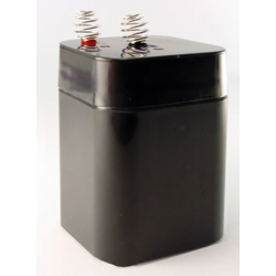 Universal Battery, UB5-6S, 6 Volt 5aH, Sealed Lead Acid Battery for Lanterns, Spring Top
