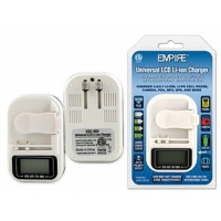 Universal Li-Ion, Li-Poly 3.6-3.85V AC & USB Charger, USC-003