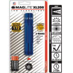 Maglite XL200 LED 3 AAA Flashlight, XL200-S3116, 166-164, Blue