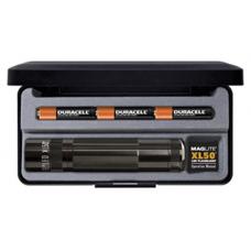 Maglite XL50 3-Cell AAA LED Flashlight, Black in Presentation Box