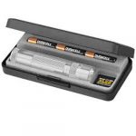Maglite XL50 LED 3 AAA Flashlight, XL50-S3107, 163-063, Silver, Gift Box