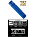 Maglite XL50 LED 3 AAA Flashlight, XL50-S3116, 163-039, Blue