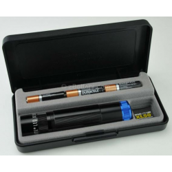 Maglite Spectrum Series XL50 3 AAA LED Flashlight, XL50-S3SX7, 163-255. Black Body Blue LED