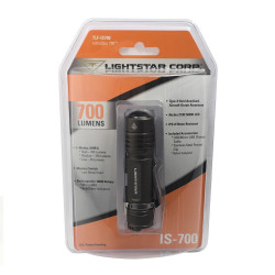 InfiniStar 700 Rechargeable Flashlight - Titanium Grey