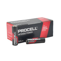 Duracell Procell Intense Series AA PX1500 Alkaline Battery, 24/Carton, PX1500-24