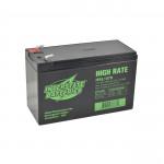 Interstate Battery, HSL1079, 12v 9Ah High Rate SLA Battery, T2