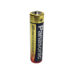 Panasonic 1.5V AAA Industrial Alkaline Battery, PAN-AAA-BULK