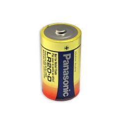 Panasonic D Industrial Alkaline Battery, 1.5V, Bulk, PAN-D-BULK