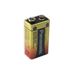 Panasonic 9V Industrial Alkaline Battery, Bulk, PAN-9V-BULK