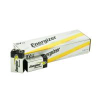 Energizer Industrial 9V Alkaline Battery, 12/Carton