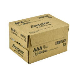 Energizer Industrial AAA Alkaline Battery, 144/Case
