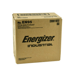 Energizer Industrial D Alkaline Battery, 72/Case
